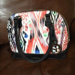 NWOT Funky professional cross body leather purse